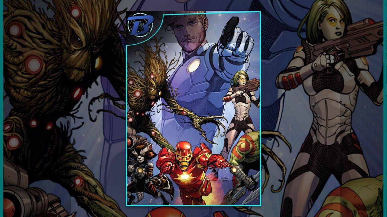 Guardians of The Galaxy - Dublado Motion Comic ( Marvel Comics ) ????