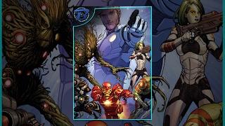 Guardians of The Galaxy - Filme Completo - Dublado Motion Comic ( Marvel Comics ) 🎬