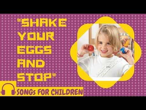 SHAKER EGG SONG FOR CHILDREN:
