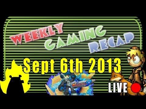 2013-09-06 Weekly Gaming Recap Show