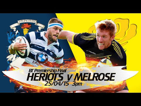 Heriot's v Melrose - Full Match