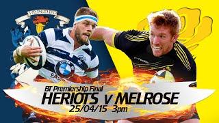Heriot's v Melrose - Full Match thumbnail