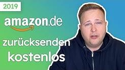 Amazon zurücksenden kostenlos