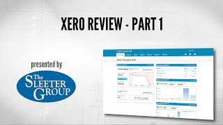 Xero Accounting Software Review / Tutorial - Part 1