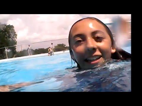 Swimming pool and Hail storm  Vlog #4