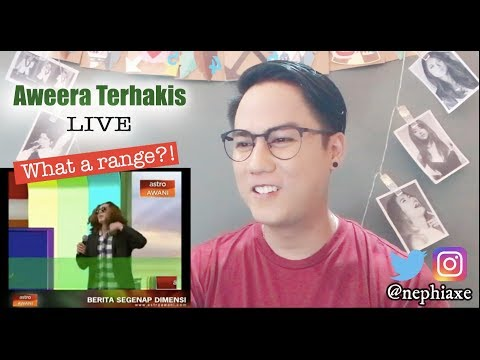 Aweera Terhakis Live Gempakk!! | REACTION