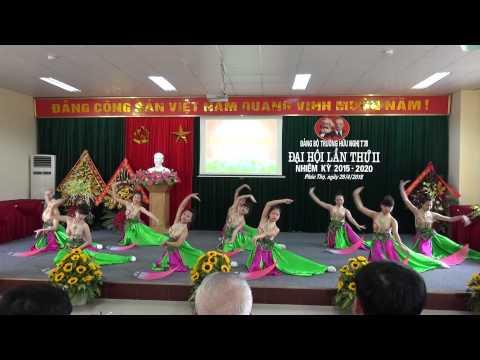 Múa Hương Sen dâng Bác - ver.1 (Đội văn nghệ trường Hữu Nghị T78)