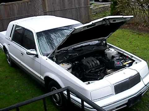 Not so cold but stale start 1993 chrysler new yorker 3 3 for 1993 chrysler new yorker salon