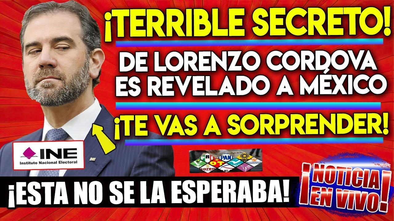 ¡PASO AHORA! SE ACABA DE REVELAR EL TERRIBLE SECRETO DEL INE Y LORENZO CORDOVA ¡NO TE LO PIERDAS!