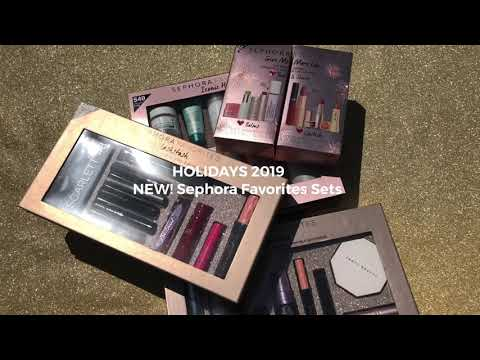 Holidays 2019 Unboxing NEW! Sephora Favorites Sets