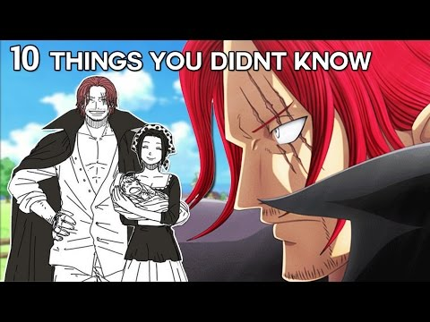 10 Things You Didn't Know About Shanks (Probably) - One Piece