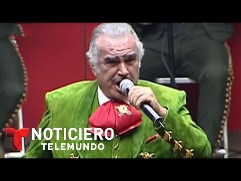 Preparan último concierto de Vicente Fernández en México | Noticiero | Noticias Telemundo