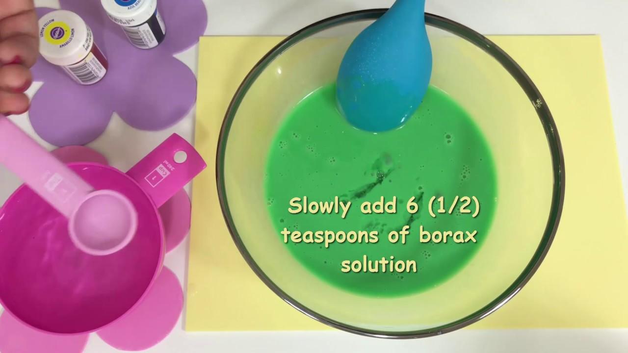 diy how to make uk slime using uk glue borax method. Black Bedroom Furniture Sets. Home Design Ideas