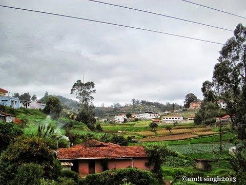 Nilgiri Mountain Railway during Monsoon -Beauty of Ooty-Coonoor stretch