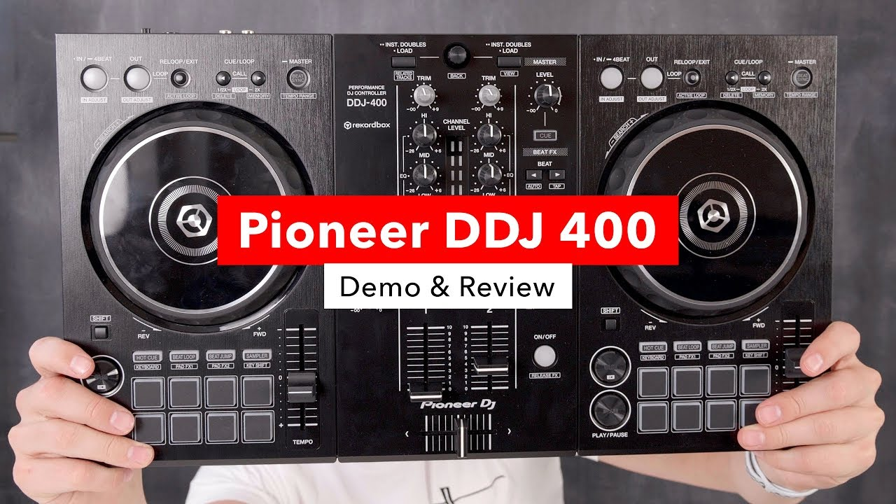 Pioneer DDJ 400 Rekordbox Controller Demo Amp Review YouTube