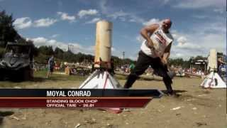 2012 St. Stephen, New Brunswick International Lumberjack Competition Part 1 Section 1