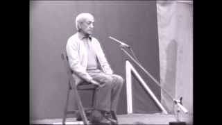 J. Krishnamurti - Saanen 1980 - Public Talk 1 - Why is there such chaos in the world?