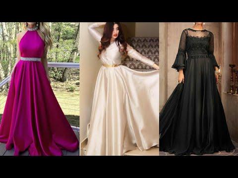 latest-silk-gown-designs-2020