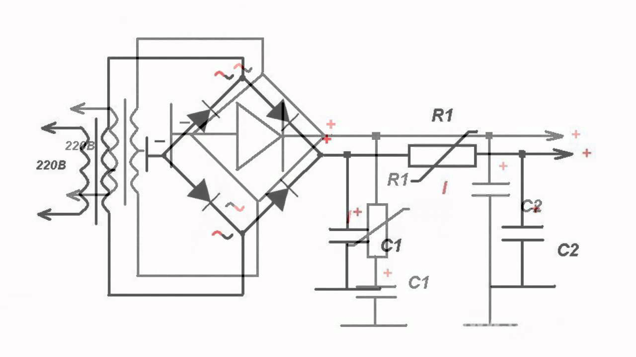 simple diode protection circuits in rectifiers
