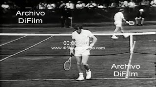 Rod Laver derrota a Bob Carmichael Open Tennis Tournament 1970