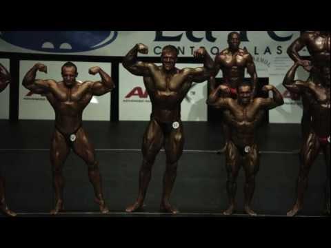 Teddy Bear actor Kim Kold attending a bodybuilding competition in Spain Teddy Bear  Sundance 2012