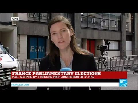 France Legislative Elections: Macron set for landslide majority