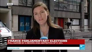 France Legislative Elections  Macron set for landslide majority