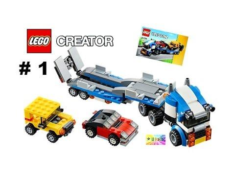 สอนต่อเลโก้รถพ่วง #1  เลโก้รถบรรทุก เลโก้รถ เลโก้ครีเอเตอร์ 31033