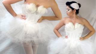 DIY WHITE SWAN HALLOWEEN COSTUME