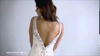 Свадебные платья русалка открытая спина ❤