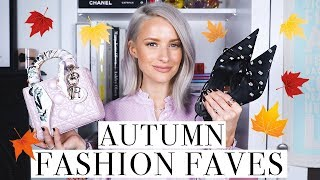 Favourite Bags, Shoes and Outfits for Autumn and October