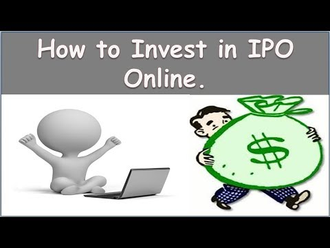 How To Invest in IPO using Net Banking | What is an IPO | All details about IPO Online