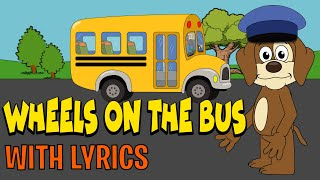 Wheels On The Bus WITH LYRICS | Nursery Rhymes And Kids Songs