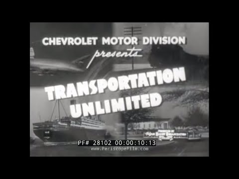 1949 CHEVROLET TRUCK AND BUS PROMOTIONAL FILM