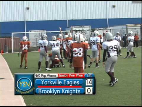 33Brooklyn Knights v. Yorkville Peewee Div. NYC  Pop Warner 2010