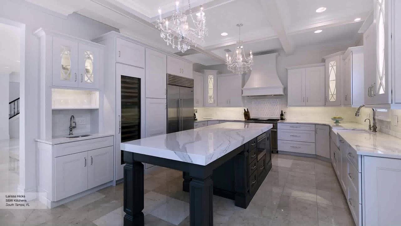Kitchen Cabinets With Dark Islands