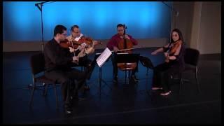 Dalí Quartet performing
