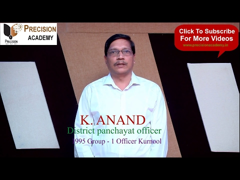 Guidance on preparation of APPSC Group-3 by District Panchayat Officer