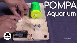 Membuat Pompa Aquarium Sederhana (ikan bakal hidup lebih lama)