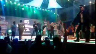 Mashfiq CDL live performance at BD HIP HOP FEST 2015   part 2