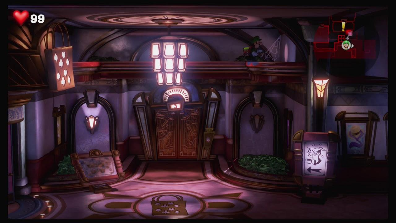 Luigi S Mansion 3 3f Hotel Shops Gems Locations