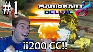 Mario Kart 8 DELUXE   MUERTE Y DESTRUCCIÓN EN 200CC   Capítulo 1 (Nintendo Switch)