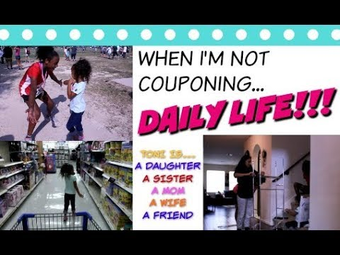 """WHEN I'M NOT COUPONING """"Real Life"""" 