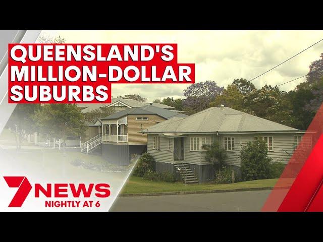 Queensland's exploding list of million-dollar suburbs | 7NEWS
