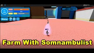{Roblox} My hero academia Farm with Somnambulist