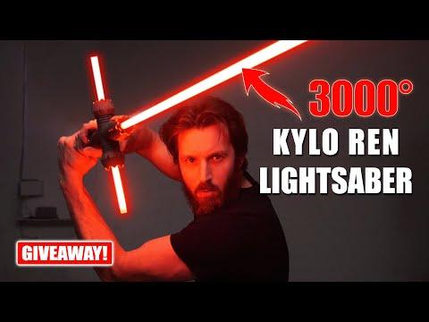 3000° Kylo Ren Lightsaber! (+ GIVEAWAY!)