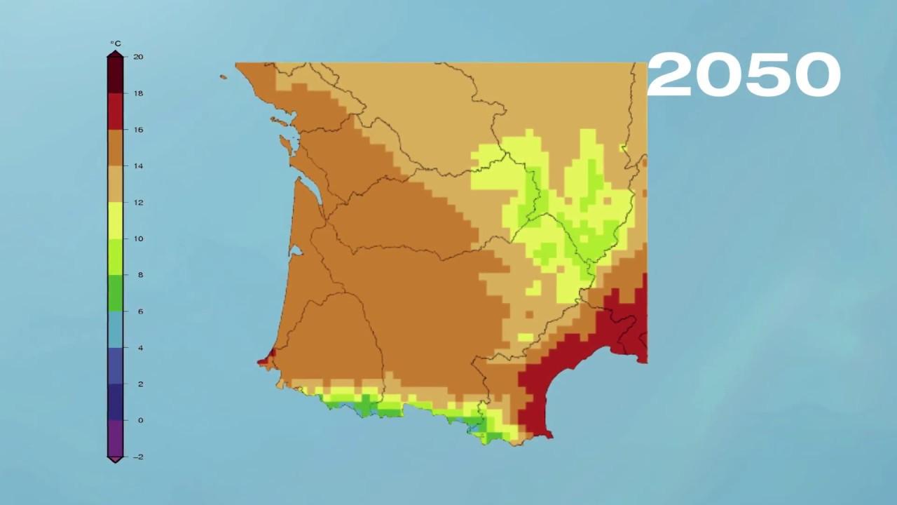 Carte Climat Europe 2050.Changement Climatique Et Eau 2050 En Images