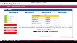 UPSEE ADMIT CARD ARIVED  MUST CHECK .....