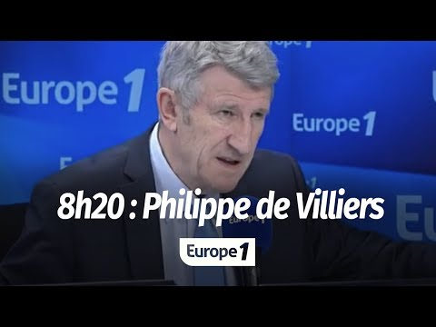 """PHILIPPE DE VILLIERS : """"L'EUROPE EST UNE CRÉATION AMERICAINE"""""""