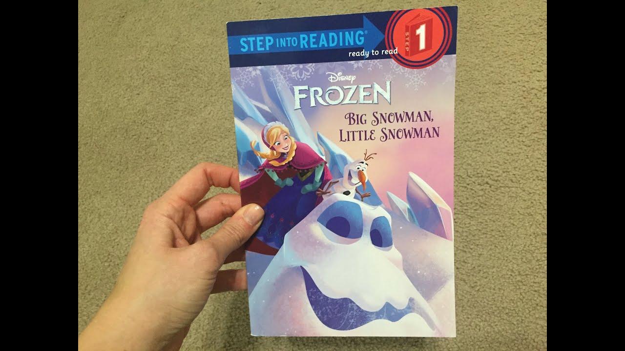 Little Snowman Big Snowman Disney Frozen